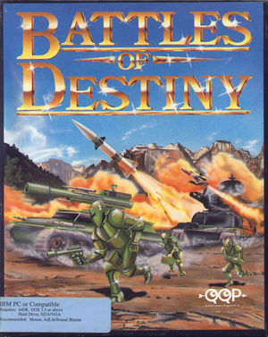 Cover for Battles of Destiny.