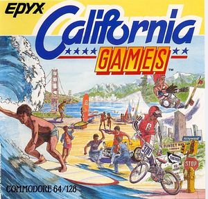 Cover for California Games.