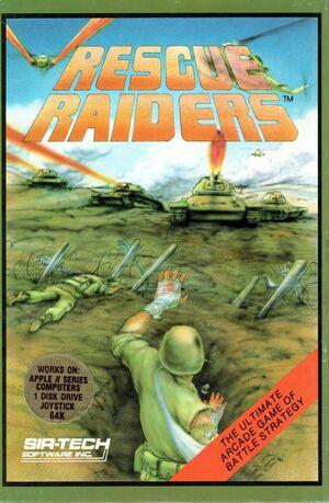 Cover for Rescue Raiders.