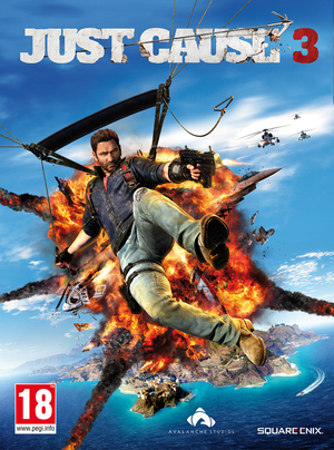 Cover for Just Cause 3.