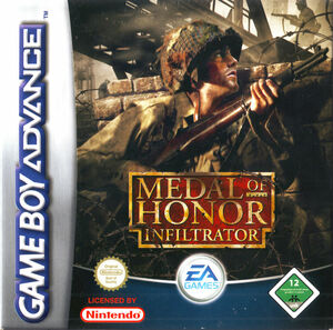 Cover for Medal of Honor: Infiltrator.