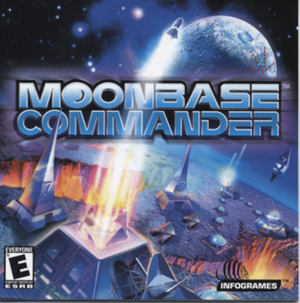Cover for Moonbase Commander.