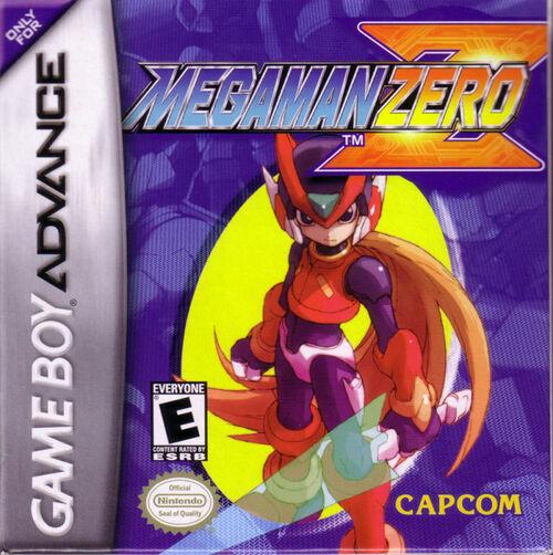 Cover for Mega Man Zero.
