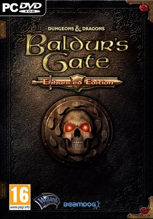 Cover for Baldur's Gate: Enhanced Edition.