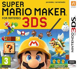 Cover for Super Mario Maker for Nintendo 3DS.