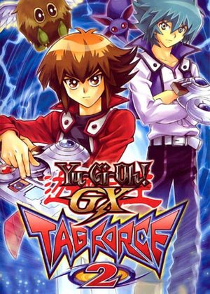 Cover for Yu-Gi-Oh! GX Tag Force 2.