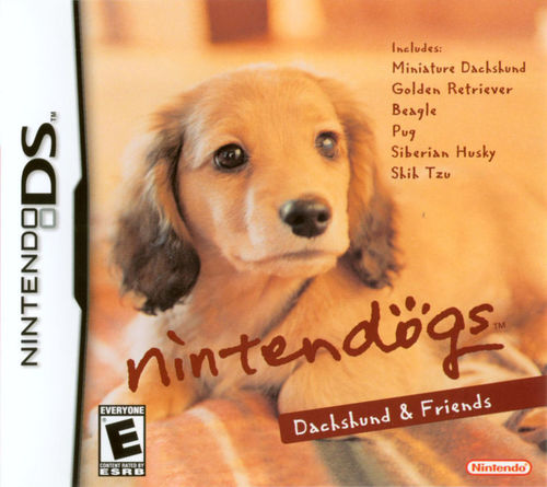 Cover for Nintendogs.