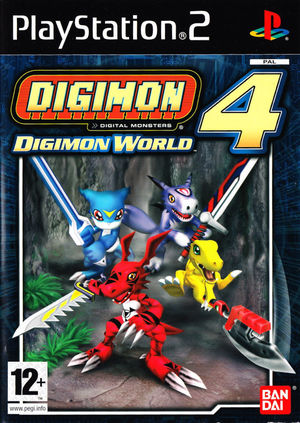 Cover for Digimon World 4.