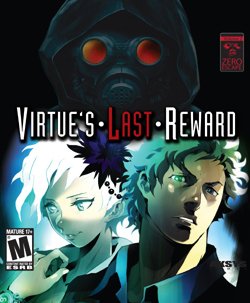 Cover for Zero Escape: Virtue's Last Reward.