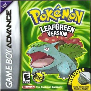 Cover for Pokémon LeafGreen.