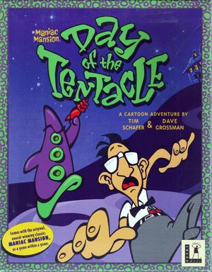 Cover for Day of the Tentacle.