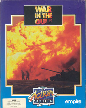 Cover for War in the Gulf.