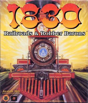 Cover for 1830: Railroads & Robber Barons.