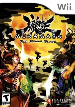 Cover for Muramasa: The Demon Blade.