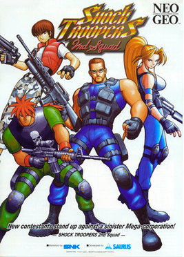 Cover for Shock Troopers: 2nd Squad.