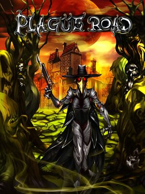 Cover for Plague Road.