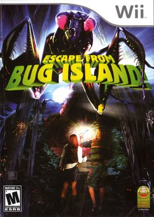 Cover for Escape from Bug Island.