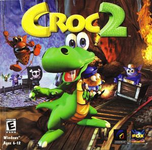 Cover for Croc 2.