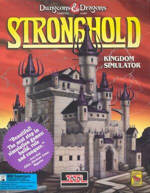 Cover for Stronghold.