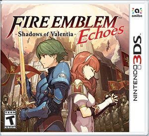 Cover for Fire Emblem Echoes: Shadows of Valentia.