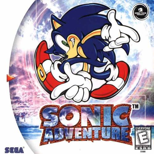 Cover for Sonic Adventure.