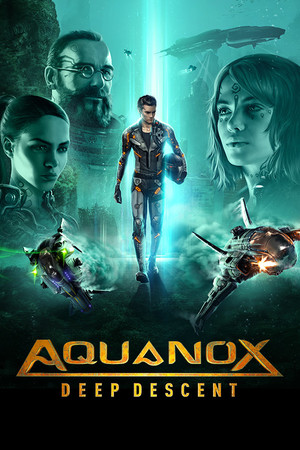 Cover for Aquanox: Deep Descent.