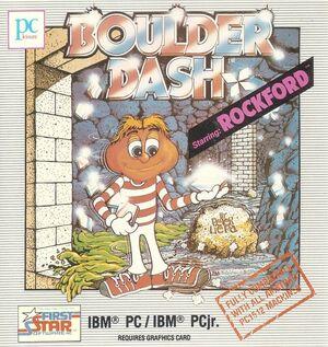 Cover for Boulder Dash.
