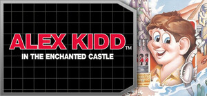 Cover for Alex Kidd in the Enchanted Castle.