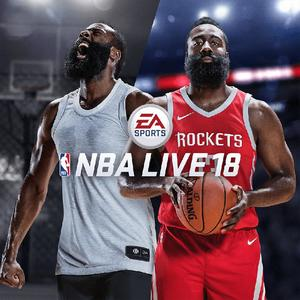 Cover for NBA Live 18.