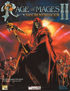 Cover for Rage of Mages II: Necromancer.