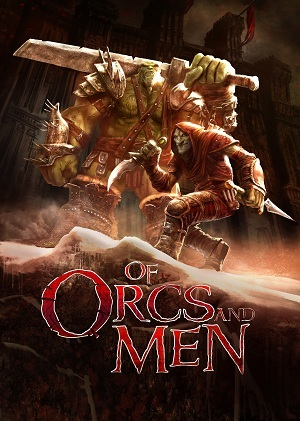 Cover for Of Orcs and Men.
