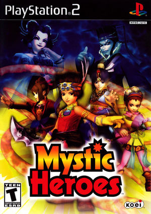 Cover for Mystic Heroes.