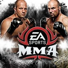 Cover for EA Sports MMA.