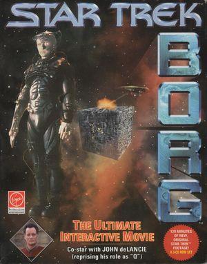 Cover for Star Trek: Borg.