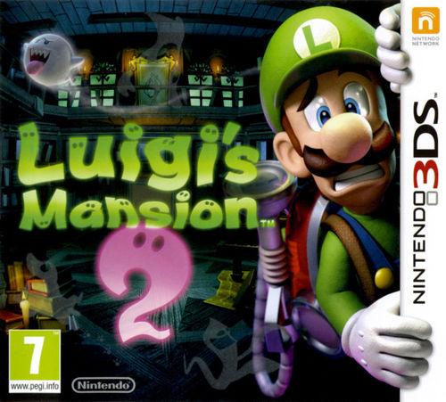 Cover for Luigi's Mansion: Dark Moon.
