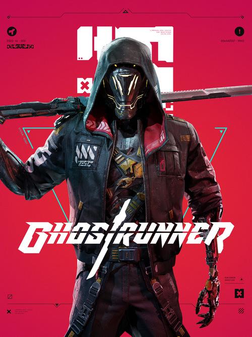 Cover for Ghostrunner.