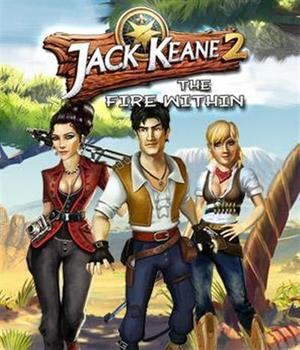 Cover for Jack Keane 2: The Fire Within.