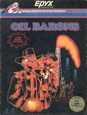Cover for Oil Barons.