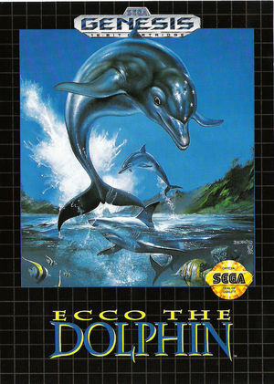 Cover for Ecco the Dolphin.