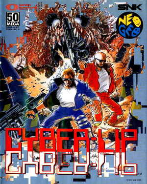 Cover for Cyber-Lip.