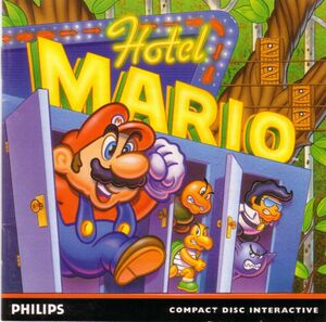 Cover for Hotel Mario.