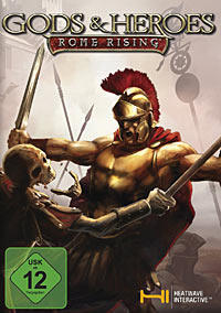 Cover for Gods & Heroes: Rome Rising.