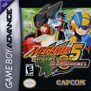 Cover for Mega Man Battle Network 5.