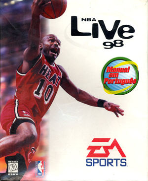 Cover for NBA Live 98.