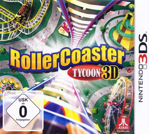 Cover for RollerCoaster Tycoon 3D.