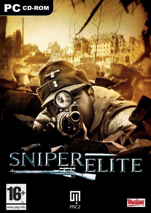 Cover for Sniper Elite.
