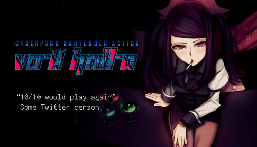 Cover for VA-11 HALL-A.