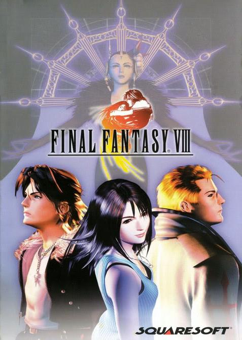 Cover for Final Fantasy VIII.