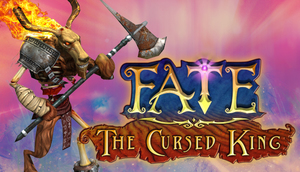 Cover for Fate: The Cursed King.