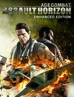 Cover for Ace Combat: Assault Horizon.